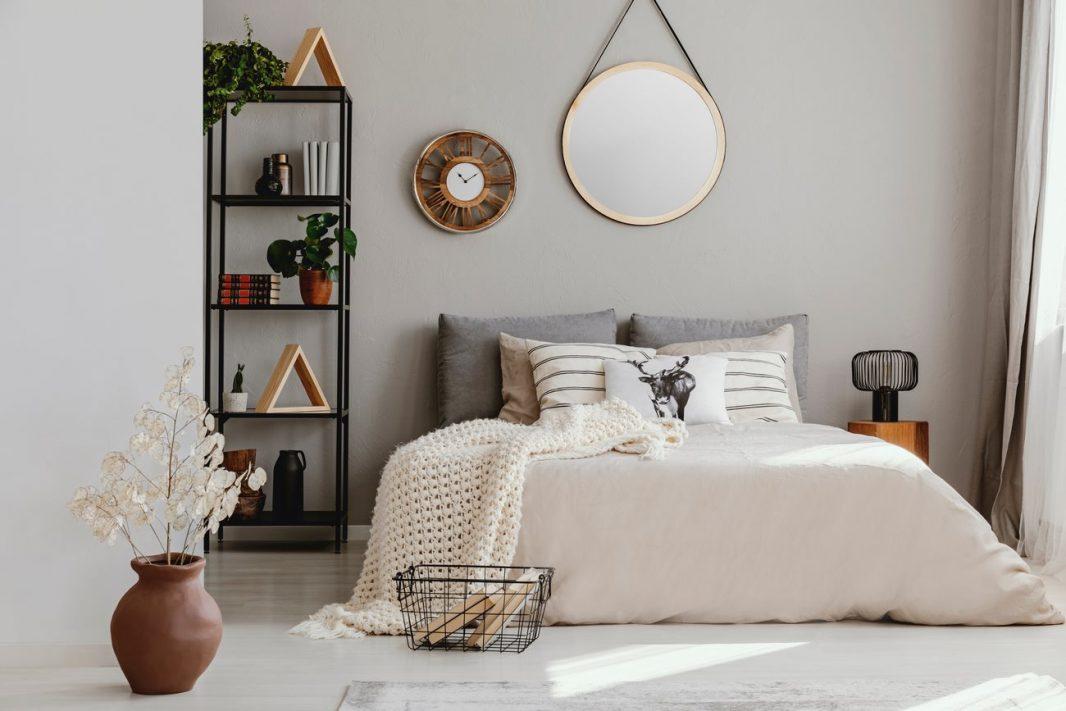 Feng Shui espejos en el dormitorio