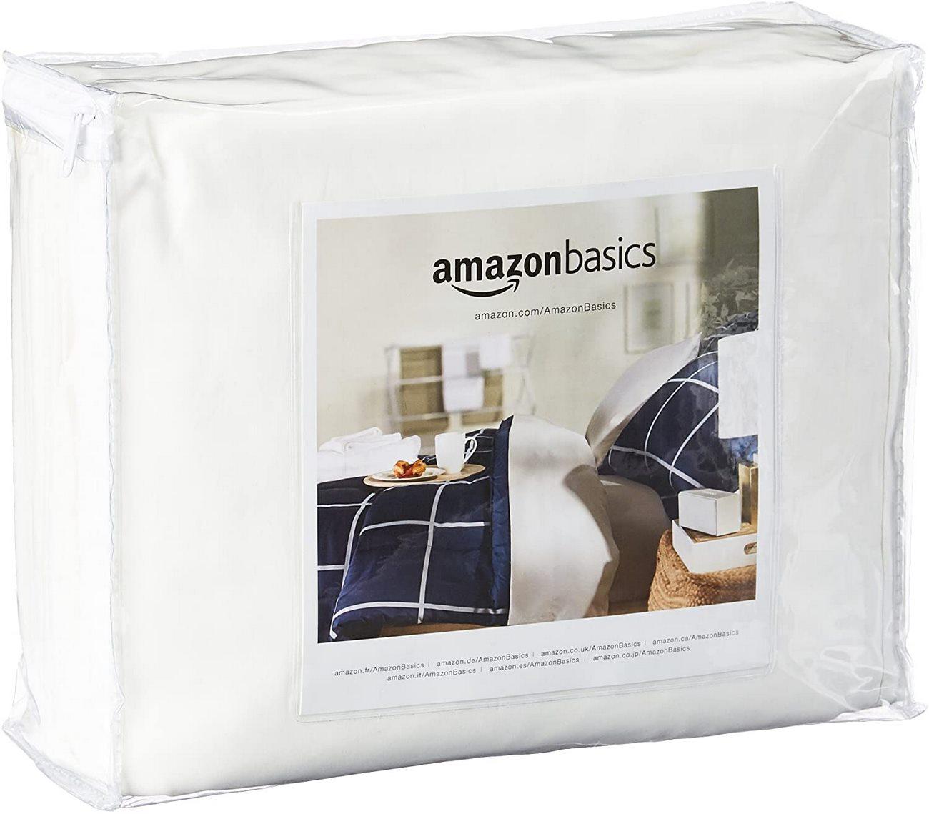 Funda de colchón Amazon Basics